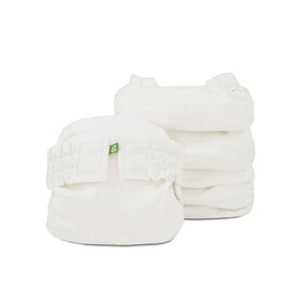 Limited Edition - 6 white newborn g's (gauze white).