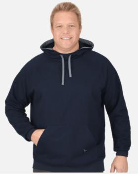 Men's Organic Navy Hooded sweater - 2019